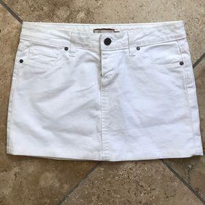 Paige jeans chic white mini
